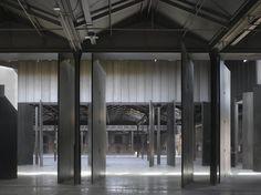 Iñaqui Carnicero - Nave 16, an exhibition center in a former slaughterhouse, Madrid 2011
