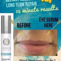 Best skincare for aging skin and wrinkles homemade wrinkle cream,top anti aging creams remedies for glowing face,skin glow tips home remedies anti aging face mask for dry skin. Anti Aging Serum, Eye Serum, Anti Aging Tips, Best Anti Aging, Anti Aging Skin Care, Nerium Results, Face Age, Nerium International, Anti Aging Supplements