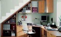 Maximizing space for home office (c/o Decor)