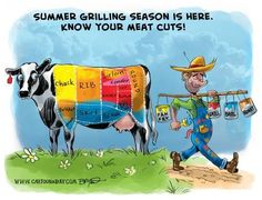 SUMMER GRILLING CHART!
