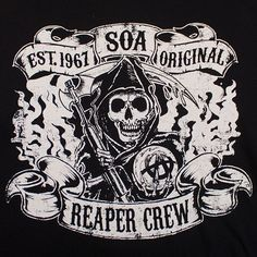 New Sons of Anarchy Logo | Questions? Call Us! 1-866-578-7962
