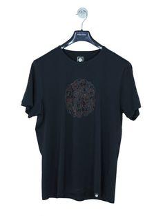 c94c632af Pretty Green Turner Paisley Logo T.Shirt in Black - Northern Threads