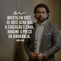 Fictional Characters, Investing, Personal Development, Campinas, Career, Knowledge, Entrepreneurship, Quotes Motivation, Fantasy Characters