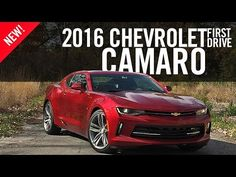 2016 Chevrolet Camaro First Drive - YouTube