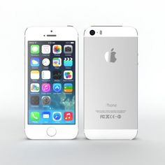 Iphone 5s Silver OHH LAWDDDDYYYYYY PRETTIEST THING EVER