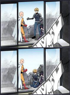 Anime In, Anime Naruto, Anime Guys, One Punch Man Funny, One Punch Man Manga, Wolf With Red Eyes, 19 Days Manga Español, Deidara Wallpaper, Saitama One Punch Man