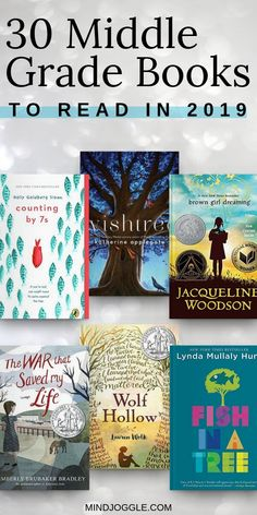 30 Middle Grade Books to Read in 2019. This list of recommended middle grade books is perfect for your kids, tweens, and middle schooler's reading list, or for adults who enjoy the best middle grade books. #books #bookstoread #bestbooks #readingchallenge #middlegrade #kidlit #readinglist #booklist #amreading #reading