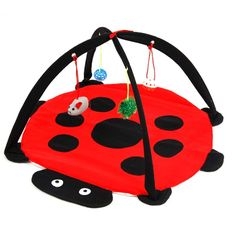 Pet Cat Bed Toys Mobile Activity Playing Bed Toys Cat Bed Pad Blanket House Pet Furniture Cat Tent Toys
