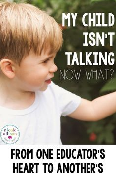 My child isn't talking and I'm an educator! Now what? From one speech language pathologist's hear to another.