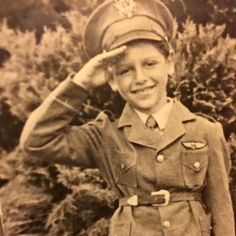Me in uniform as a young boy. #tbt #youth #memories