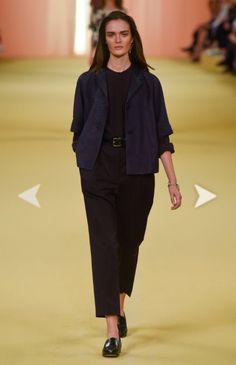 Fashion week Hermès Spring 2015