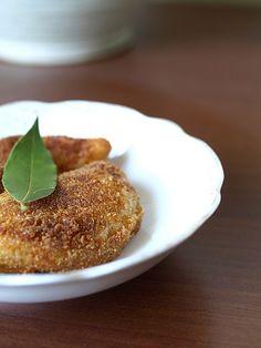 Rissoles - Portuguese prawn pie/fritter