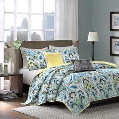 Madison Park Chantel 5-piece Coverlet Set | Overstock.com Shopping - The Best Deals on Bedspreads