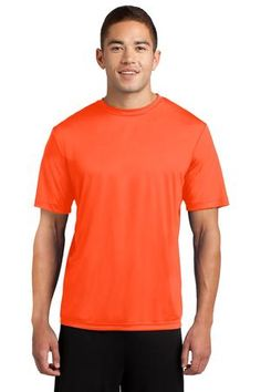 Sport-Tek TST350 Tall PosiCharge Competitor Tee Neon Orange