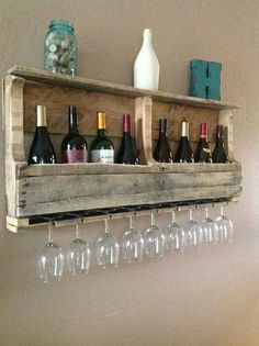 Brilliant idea using an old palet