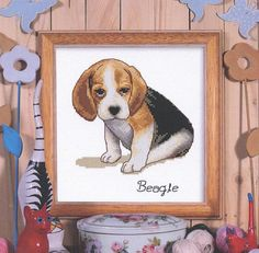 Our Pets Beagle Chart Booklet | sewandso