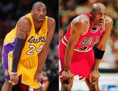 Kobe and michael    El basquetbolista Kobe Bryant, guardia de Lakers de Los Ángeles ...
