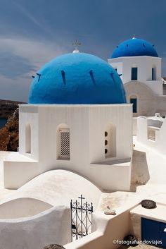 Iglesia ortodoxa  Santorini  Greece