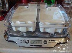 faisselle ou fromage blanc ? Actifry, Dessert Recipes, Desserts, Tupperware, Yogurt, Meal Planning, Recipies, Food And Drink, Homemade