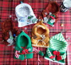 97199d07684 Ravelry  Festive Hoodie Mug Cozies pattern by Loraine Birchall Mug Cozy  Pattern
