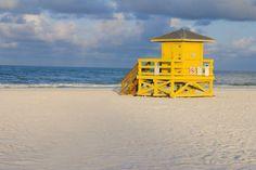 Siesta Key Public Beach in Sarasota. Florida