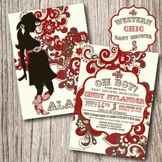 Natural Western Baby Shower Theme Ideas and cowboy themed baby shower invitation wording