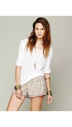 EBAY:  Was $68, NOW $10.47 + Ships FREE!  Free People Lace Shorts  2 Colors, XS-M  SAVE  $58: http://ebay.to/2C1doeB  #ad