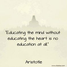 Educational Thoughts. I believe Mr. Poppen talked about this the other day.