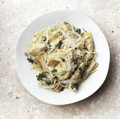 Artichoke & lemon summer pasta | Chatelaine