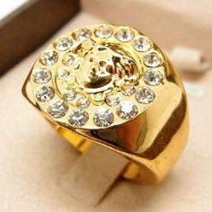 Pánsky prsteň Guso gold