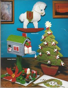 Plastic Canvas Pattern Book Holiday by KnitKnacksCreations on Etsy