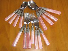 Pink Silverware - Yvonne