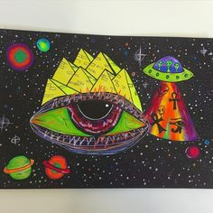 provocative-planet-pics-please.tumblr.com Dont really know what this is  #doodle #drawing #eyes #colourful #trippy #artwork #illustration #doodles #art #psychedelicart #trippyart #psychedelicart #weird #eye #pyramids #egypt #planets #aliens #alien by janefurniss https://www.instagram.com/p/BELxpf4kVfS/