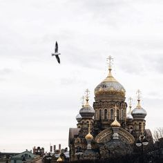 Temple of Assumption in St. Petersburg, Russia