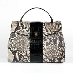 dffe31538321 Dama in python and crocodile (11,465 MYR) ❤ liked on Polyvore featuring bags ,