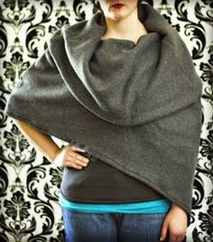 Quality Sewing Tutorials: Cowl Caplet pattern and tutorial from Fleece Fun