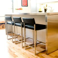 Counter Height Stools leather with a little back