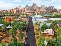 Disney California Adventure® Park, Cars Land, Disneyland® Resort calfornia to Disney Dream, Disney Fun, Disney Trips, Disney Magic, Disney Parks, Walt Disney World, Cars Land Disneyland, Disneyland Vacation, Disneyland History