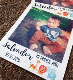 iman cumpleaños souvenir Foto Iman, Baptism Party, Animal Birthday, Safari, Baby Shower, Frame, Projects, Kids, Polaroids