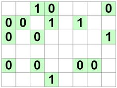 Number Logic Puzzles: 21152 - Binary size 1