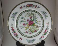 "Vintage Paragon Tree of Kashmir 10.5"" Dinner Plate Fine Bone China Under Warrant | eBay"