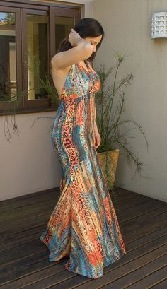 African Style, African Fashion, Amanda Santiago, Ideias Fashion, Chic, Casual, Dresses, Dress Long, Maxi Dresses