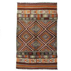 Vintage Turkish Kilim | Cicim Flatweave DEM0115-61