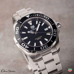 fac30e46dfc Tag Heuer Aquaracer 300M Black aluminium bezel Quartz Watch - WAY111A.BA0928
