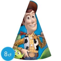 Toy Story 3 Party Hats 8ct - Party City