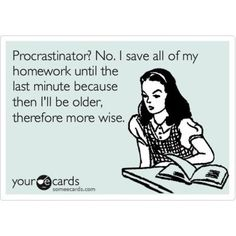 exactly why I'm on pinterest and not doing homework right now!