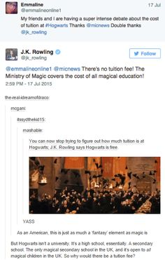 I don't care I just want to go to Hogwarts