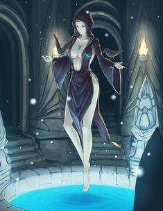 Ноктюрнал,TES Персонажи,The Elder Scrolls,фэндомы,Skyrim,TES art,Лорды Даэдра