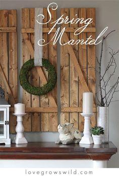 45+ Charmante Bauernhaus Wand Dekor Ideen, Um Einige Rustikale Flair Zu  Ihren Leeren Wänden Hinzufügen