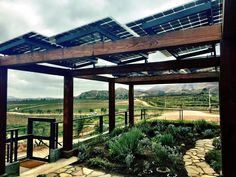 LSX rises with sustainable wine making in Mexico — Lumos Solar Spanish Exterior, Solar Shades, Kiddie Pool, Shade Structure, Canopies, Wine Making, Wineries, Organic Gardening, Sustainability